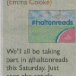 Halton reads tweet published