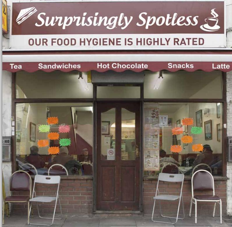 Surprisingly Spotless Restaurant