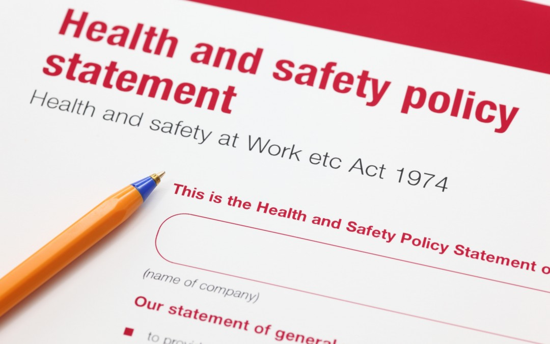 Easy Peasy Safety Stuff – No.2 (Safety Policy- Amazing!)