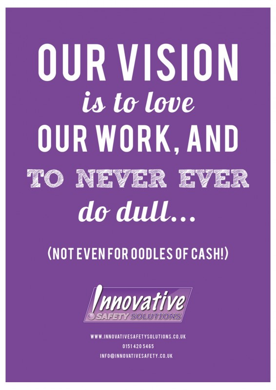 Innovative Safety Solutions' Vision Poster